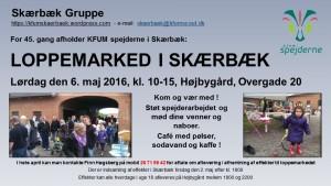 KFUM spejderne i Skærbæks Loppemarked @ Fredericia   Denmark