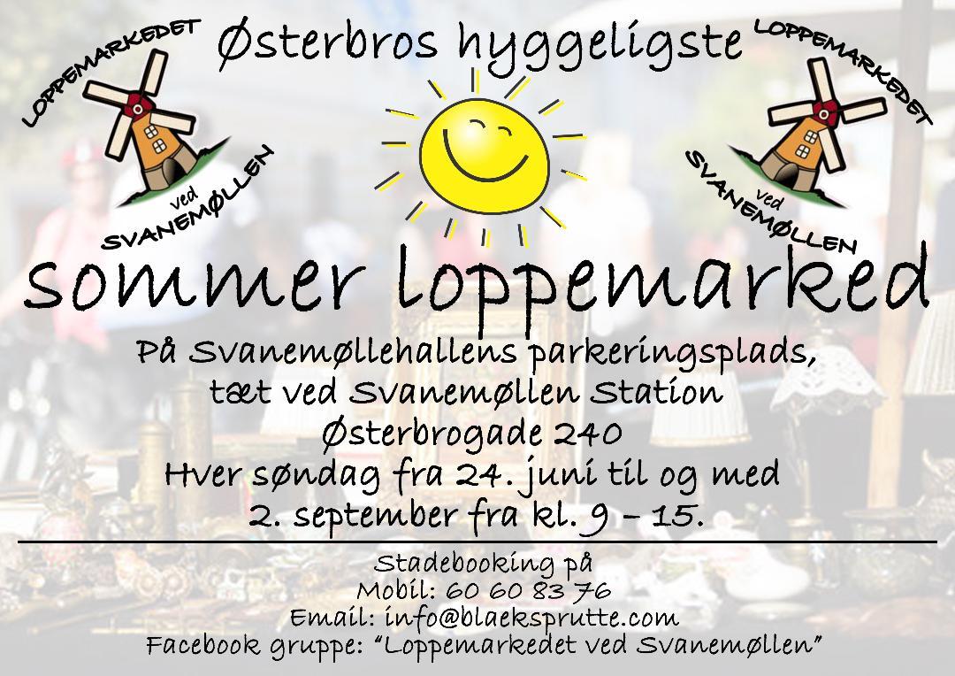 Loppemarkedet ved svanemøllen @ København | Denmark