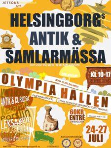 Antik & Samlarmässa Helsingborg